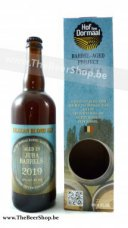 BLHD00010 Hof ten Dormaal Blond Jura Whisky Barrel Aged  2019  75cl