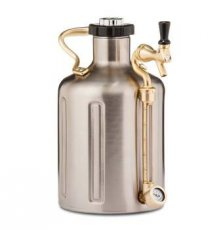 GrowlerWerks Ukeg 128 RVS 3.8L