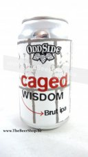 Odd Side Ales Caged Wisdom Brut IPA 2018 can 355ml