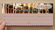 Cadeaubon The Beer Shop